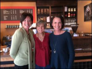 Yvette Maher, Dr. Juli Slattery, & Michele Cushatt