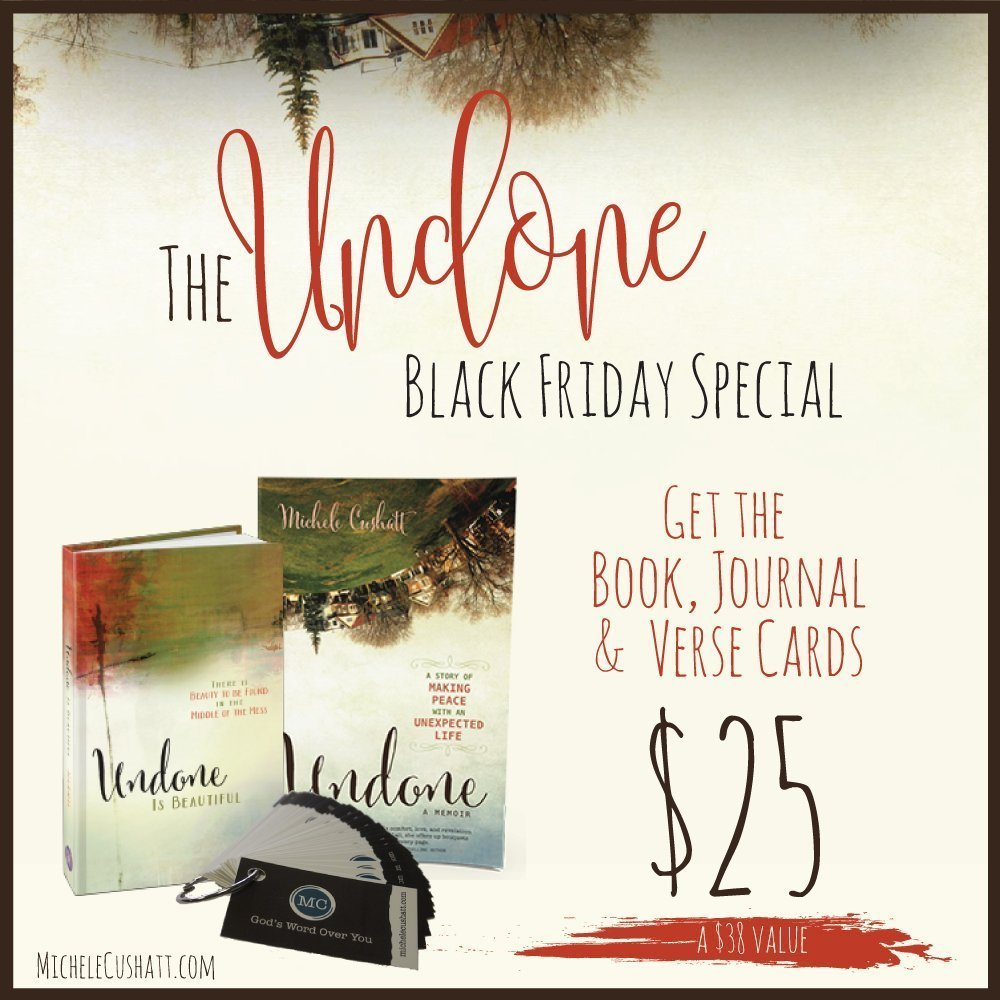 Black Friday/Cyber Monday Undone Deal